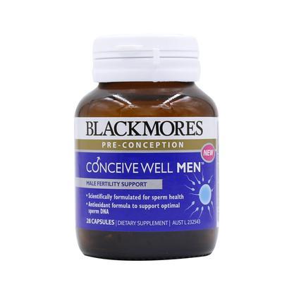 【澳洲直邮】澳洲澳佳宝 blackmores 男士备孕综合维生素胶囊 28粒
