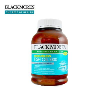 【澳洲直邮】澳洲澳佳宝Blackmores深海鱼油软胶囊(无腥味)400粒/瓶