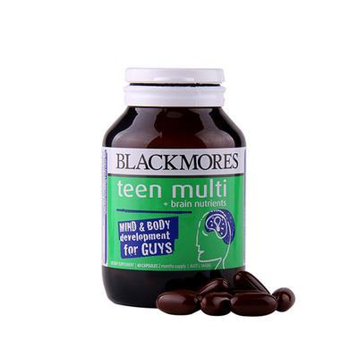 【澳洲直邮】 澳洲澳佳宝Blackmores青少年男性复合维生素胶囊60粒