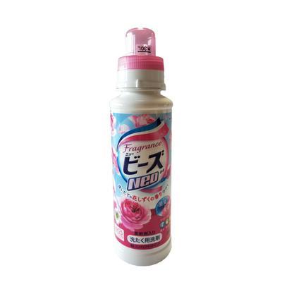 【一般贸易中文标】日本花王玫瑰香含柔顺剂超浓缩洗衣液400g