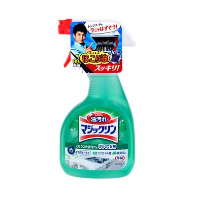 日本花王厨房清洁剂 强力去油污喷剂抽油烟机清洗剂去重油 泡沫型 400ml