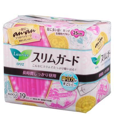 日本花王乐而雅S系列日用卫生巾25cm*19片(版本随机发送)