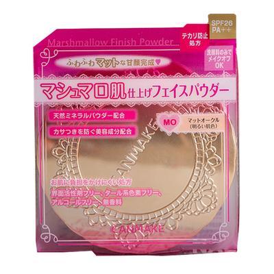 【香港直邮】日本井田 CANMAKE 棉花糖弹力蜜粉饼 10g MO 明亮色(哑光)