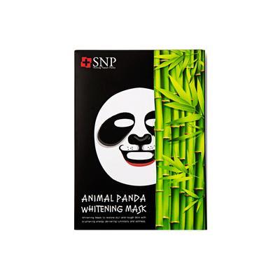 【一般贸易中文标】韩国斯内普SNP熊猫形美白面膜25Ml*10片