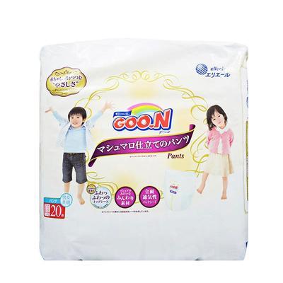 【一般贸易】日本大王天使棉花糖拉拉裤XXL20