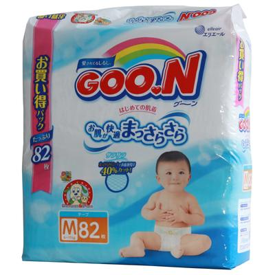 日本大王维E系列纸尿裤M82(新旧包装随机发)