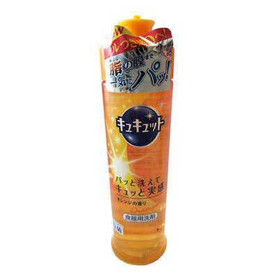 【一般贸易】日本花王橙子香果蔬清洁剂240ml