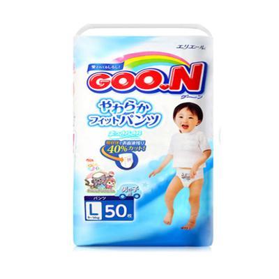 日本大王GOO.N维E拉拉裤L50男