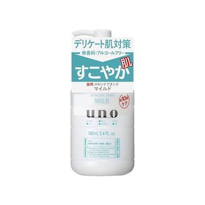 日本资生堂UNO男士三合一调理乳液温和型160ml