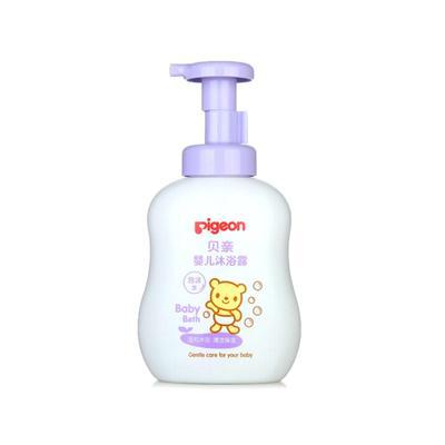【一般贸易】日本贝亲Pigeon婴幼儿泡沫沐浴露 500ml 1A118