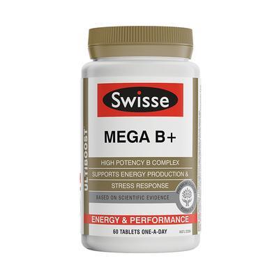 【香港直邮】澳洲Swisse复合维生素B 60片/瓶