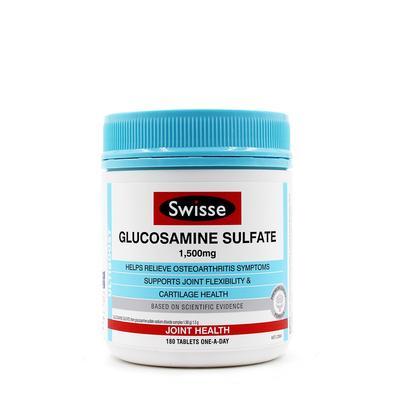 【香港直邮】澳洲Swisse氨糖1500mg维骨力 180粒/瓶