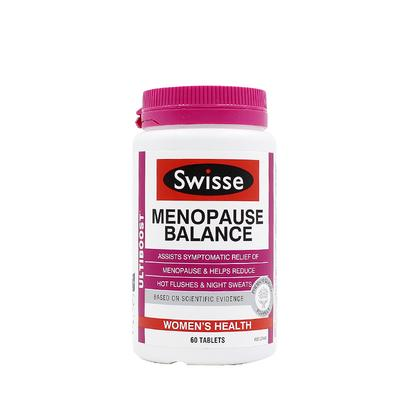【香港直邮】澳洲Swisse 更年期平衡营养素60粒