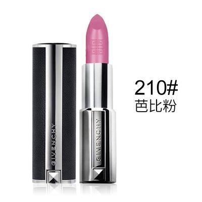 【香港直邮】法国纪梵希Givenchy高级定制小羊皮唇膏210芭比粉