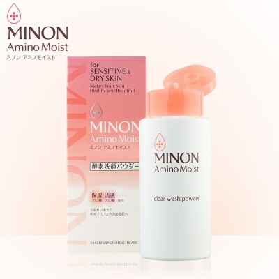 【一般贸易中文标】MINON 蜜浓氨基酸酵素洗颜粉#35g