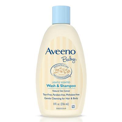 【香港直邮】美国艾维诺Aveeno天然燕麦婴儿洗澡洗发液无泪配方236ml