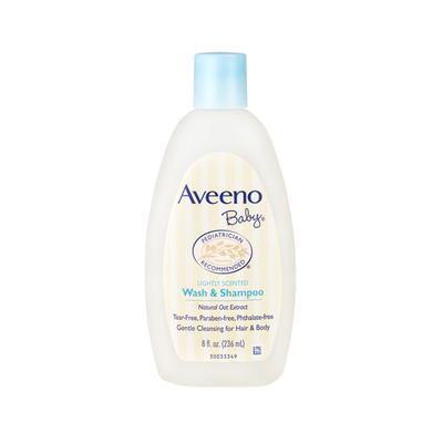 【澳洲直邮】澳大利亚Aveeno艾维诺 婴幼儿天然燕麦洗发沐浴二合一236ml
