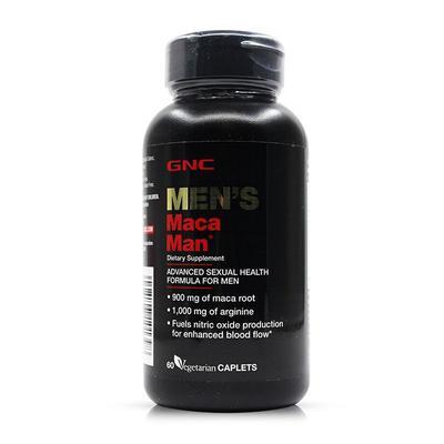 【香港直邮】 美国GNC健安喜 秘鲁玛咖MACA精氨酸 60粒