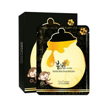 【香港直邮】韩国papa recipe春雨黑炭面膜10片/盒