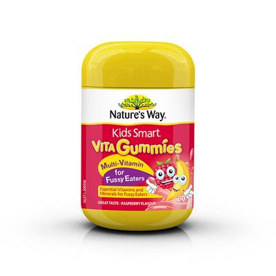 【香港直邮】澳洲佳思敏Nature's Way儿童复合维生素软糖60粒