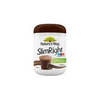 澳洲 Nature's Way佳思敏 新版少糖代餐奶昔粉375g 巧克力味