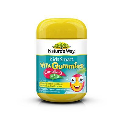澳洲佳思敏Nature's Way儿童鱼油复合维生素软糖50粒