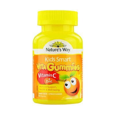 【香港直邮】澳洲佳思敏Nature's Way儿童维生素C+锌软糖 60粒