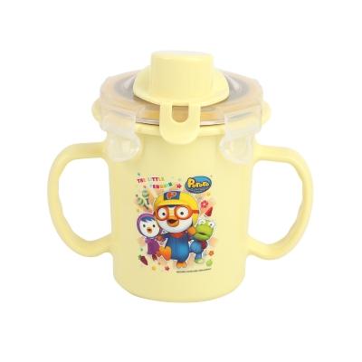 韩国啵乐乐pororo儿童学饮杯卡扣式水杯250ml【颜色随机】