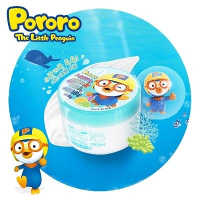 【一般贸易中文标】韩国进口pororo啵乐乐海洋干细胞面霜 儿童滋润护肤 1岁以上100g