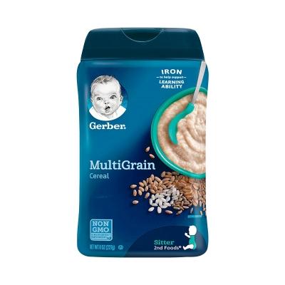【香港直邮】美国嘉宝gerber米粉2段混合谷物 227G