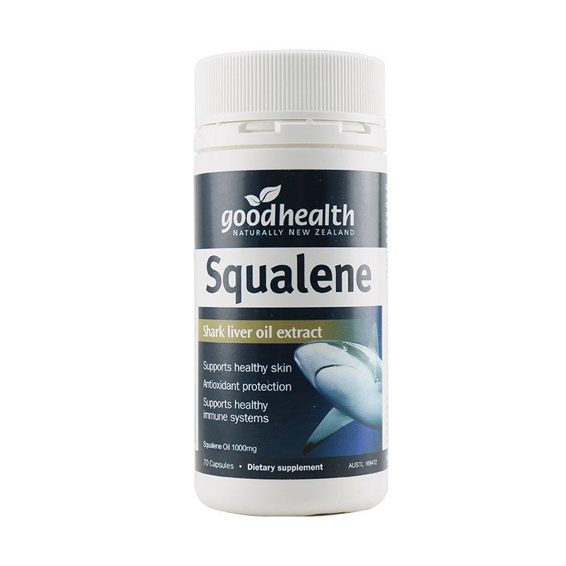 【新西兰直邮】Goodhealth好健康角鲨烯70粒