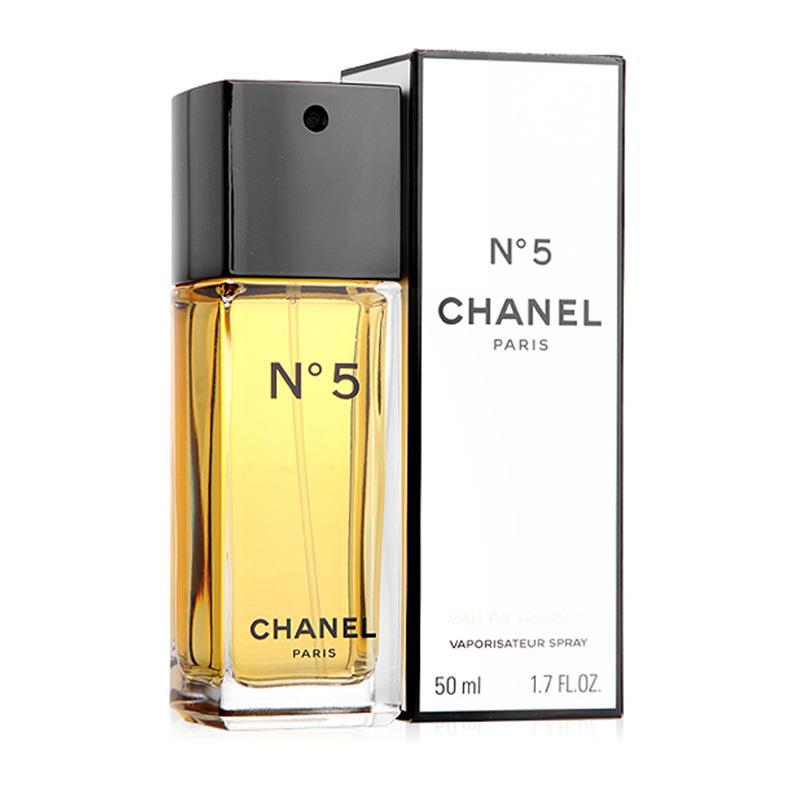 【香港直邮】法国香奈儿Chanel No.5 5号女士香水 五号淡香EDT 50ml