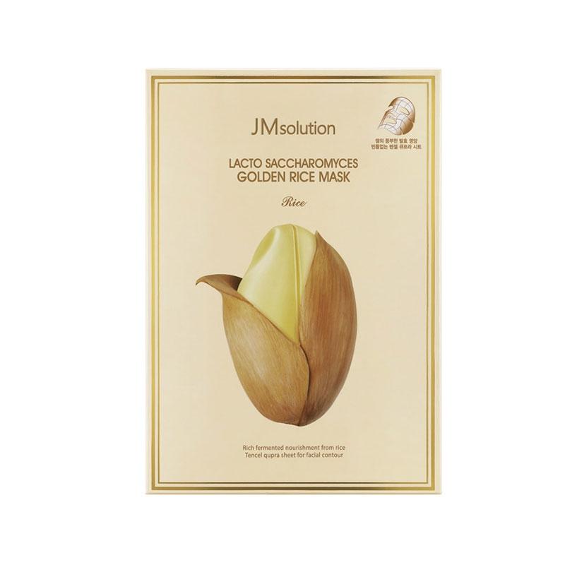 韩国 JM solution酵母乳黄金米面膜大米面膜 10片/盒