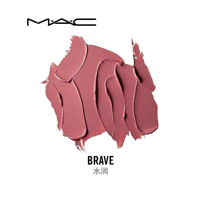 全球货源  美国魅可MAC豆沙裸粉Brave子弹头口红 3g 版本随机发货