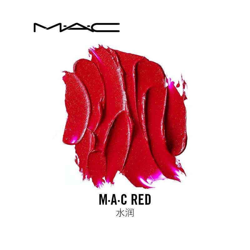 代理海外品牌   美国魅可MAC水润MAC Red子弹头口红 3g 版本随机发货