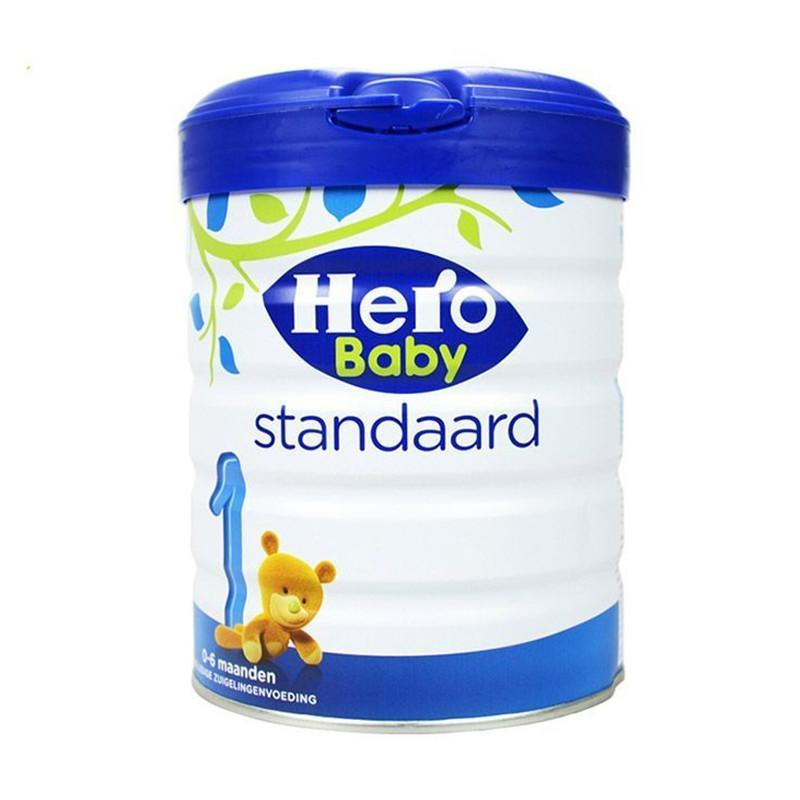 微信代购货源   荷兰美素Herobaby奶粉白金版1段800g