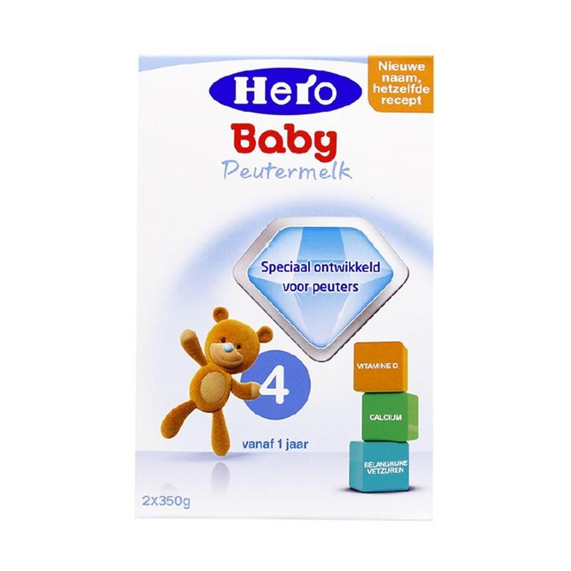 进口货源  荷兰美素Herobaby奶粉4段700g(新旧包装随机发送)