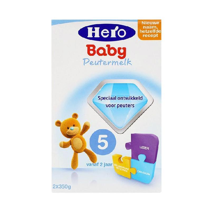 进口奶粉代理  荷兰美素Herobaby奶粉5段700g(新旧包装随机发送)