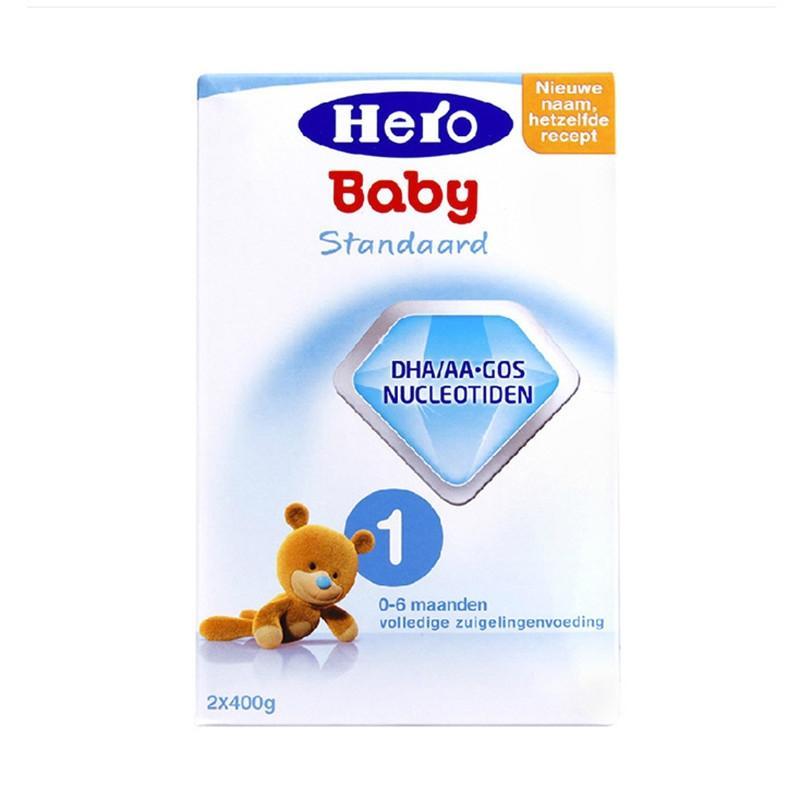 微信代购货源   荷兰美素Herobaby奶粉1段800g(新旧包装随机发送)