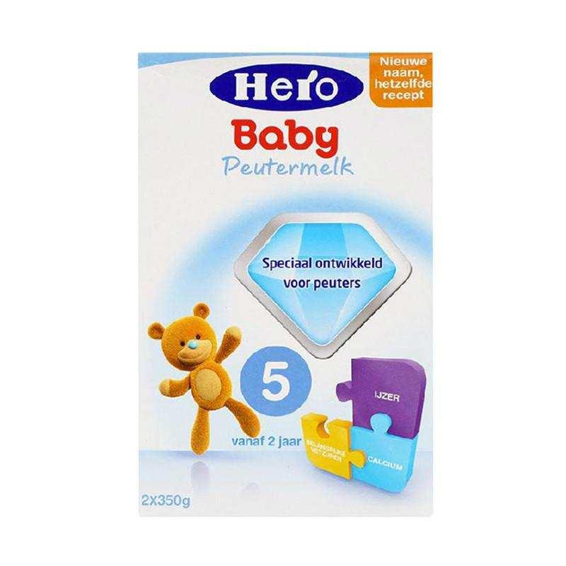 正品奶粉货源   荷兰美素Herobaby奶粉5段700g