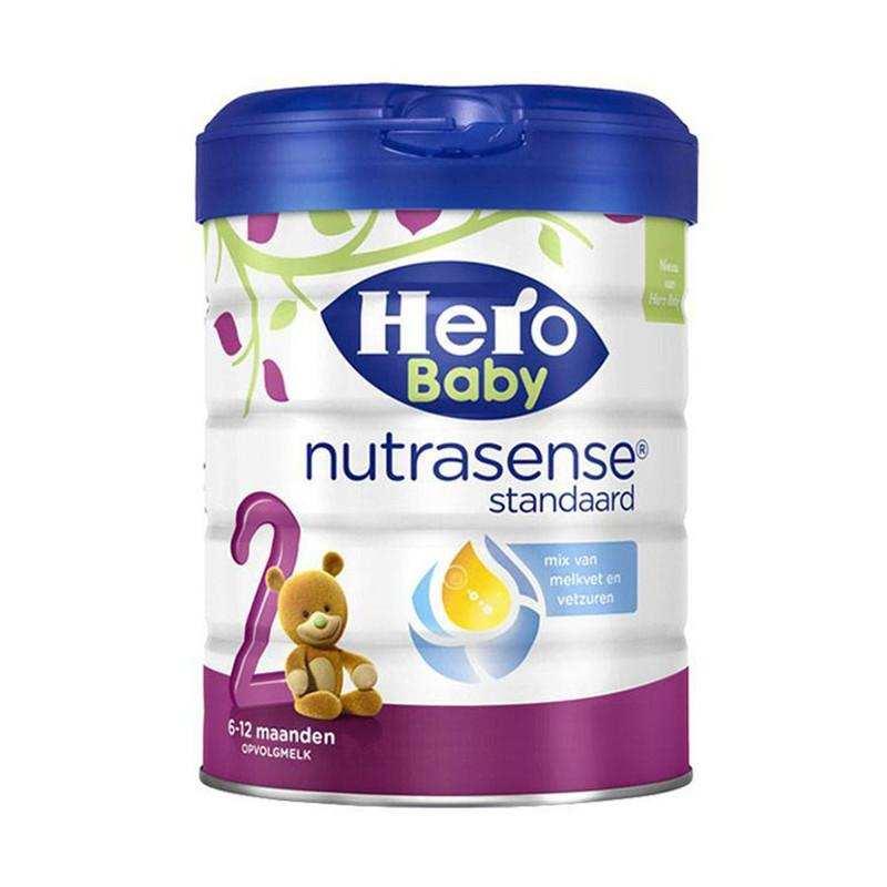 荷兰美素Herobaby奶粉白金版2段800g  支持一件代发货