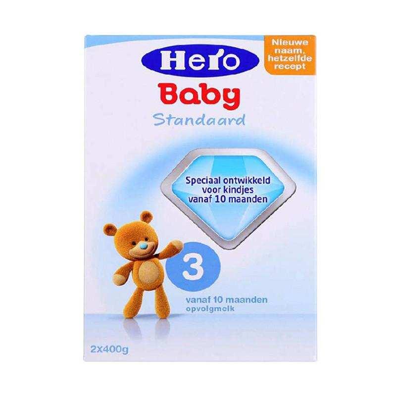 进口奶粉代理    荷兰美素Herobaby奶粉3段800g(新旧包装随机发送)