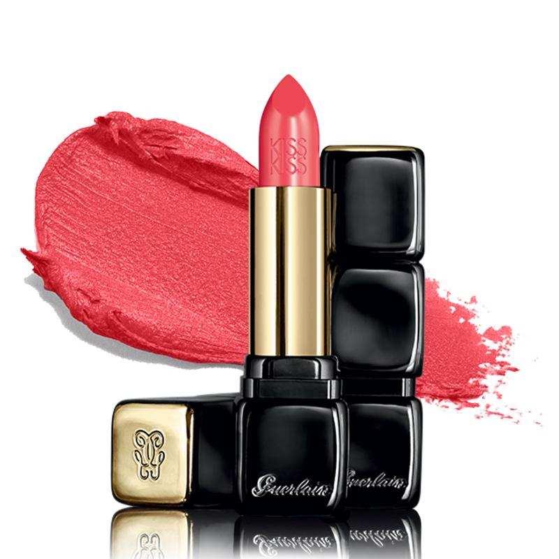 法国娇兰(Guerlain)杨洋色推荐亲亲KISSKISS唇膏口红3.5g 343,微信代购货源