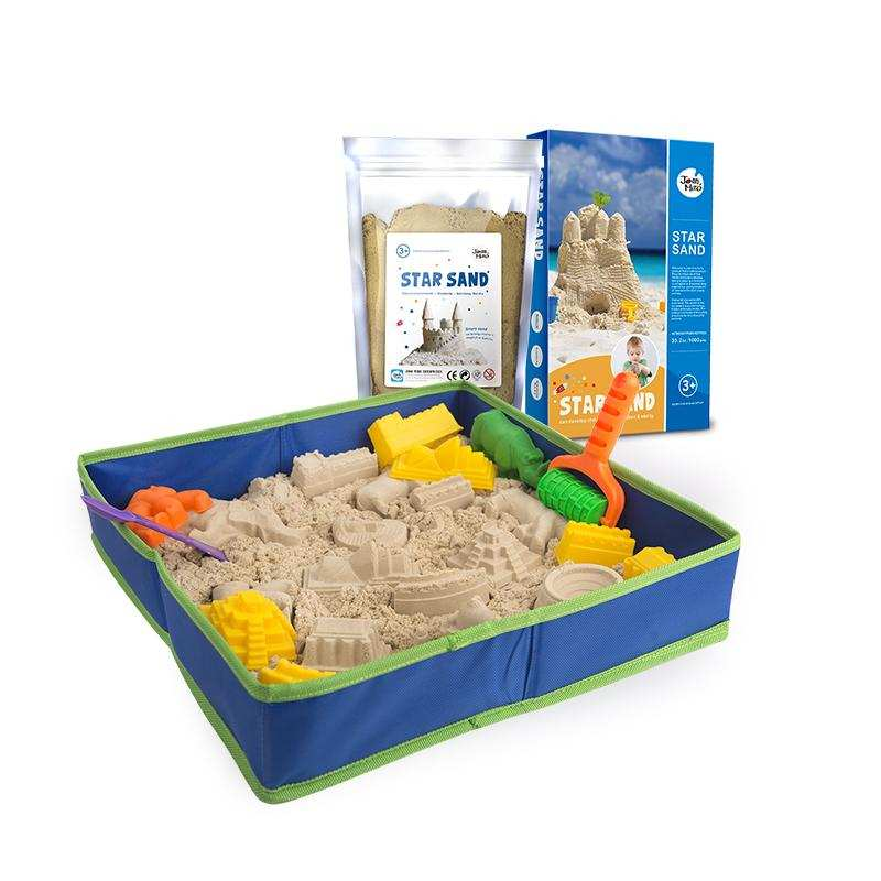 直邮代发  中国美乐JoanMiro 星空沙豪华礼盒 含2公斤星空沙、工具及沙盘