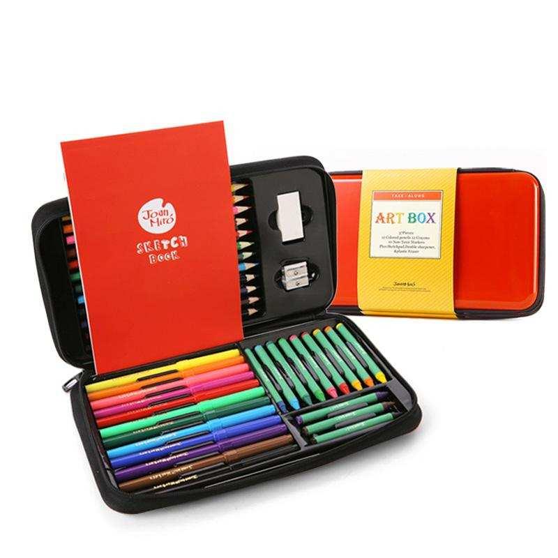 中国美乐JoanMiro 儿童绘画文具礼盒  支持一件代发货
