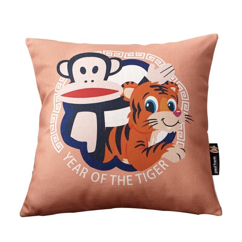 大嘴猴 正版全棉卡通高端抱枕生肖虎,正品供应链