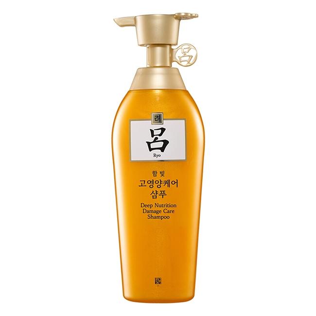 韩国吕(Ryo)含光耀护金萃养护洗发水 400ml
