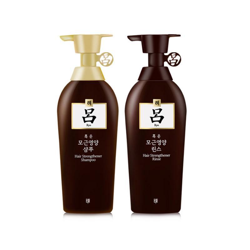 韩国RYO棕吕洗发护发套装 400ML+400ML