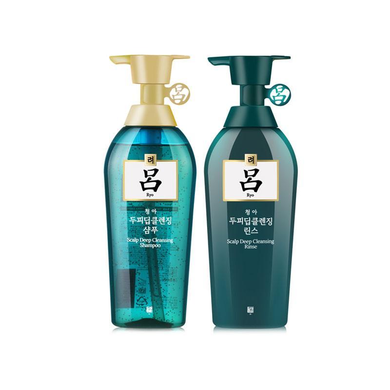 韩国RYO绿吕洗发护发套装 400ML+400ML