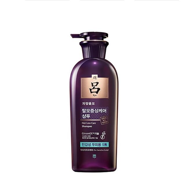 韩国吕滋养韧发密集强韧洗发水(油性头皮) 紫吕 400ml